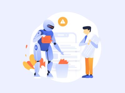 Automatization process illustration