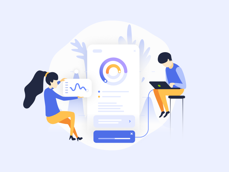 Target audience analytics illustration release management analytics architecture vector candidate automatization design wish promo process users development onboarding illustration