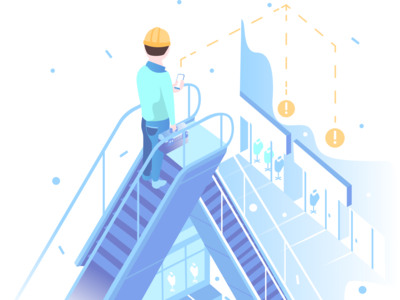 Technical maintenance illustration
