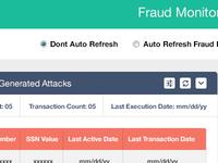 Fraud Monitoring Dashboard