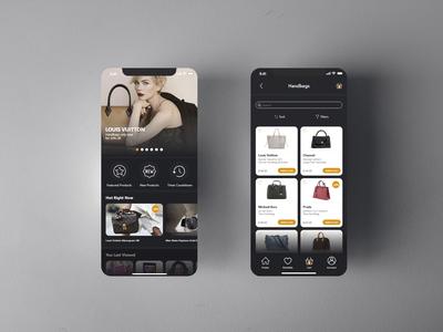Luxury marketplace app