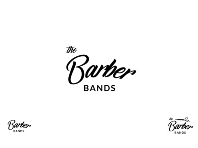 Barber's Band Shop branding