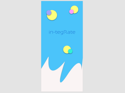 in-tegRate splash screen