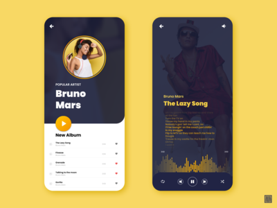 Music App Conceptual Design