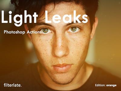 Light Leaks - Orange Edition unsplash photography photographer photoshop action actions filter filterlate leaks light lightleaks facebook instagram snapchat