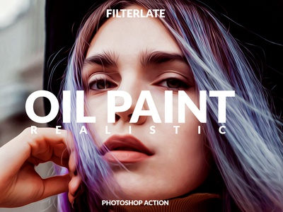 Oil Paint Realistic Action oilpant realistic real oil paint oil camera adobe addons unsplash premium photoshop filter filterlate facebook actions snapchat photoshop action photography photographer instagram