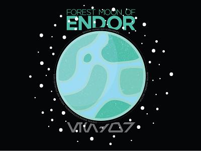 Endor space star wars planet endor