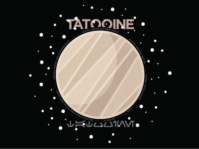 Tatooine space star wars planet tatooine