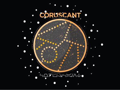 Coruscant space coruscant planet star wars