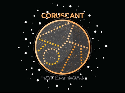 Coruscant space coruscant planet star wars