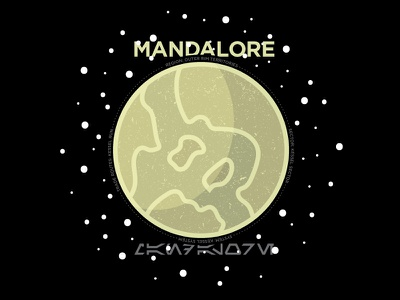 Mandalore space mandalore planet star wars