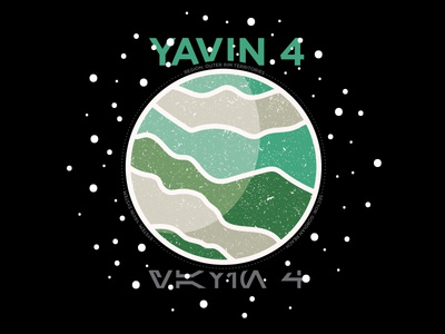 Yavin 4 space yavin 4 planet star wars