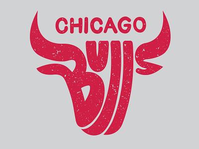 Bulls lettering typography logo nba basketball bulls chicago
