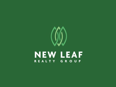 New Leaf Brand Identity brand identity logotype logos brand logodesign brand design logo branding design identity branding