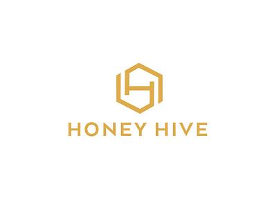 Honey Hive Brand Identity logo logo design brand design logotype logos branding design logodesign identity branding brand identity hexagon grid brand