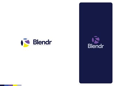 Blendr Logo brand brand design logos logotype logo design logodesign logo identity branding design branding