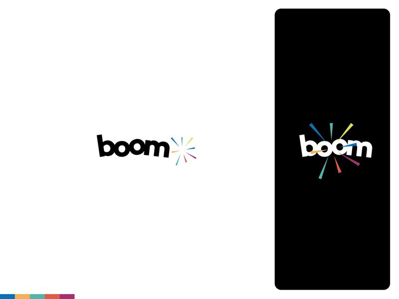Boom   Logo & Branding Design logotype creative agency brand identity brand logos identity logodesign logo logo design branding design branding