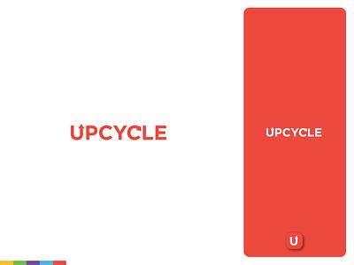 Upcycle | Logo and Branding upcycle repurpose recycle logotype logos logo design logodesign logo illustrator identity gear branding design branding brand identity brand design brand