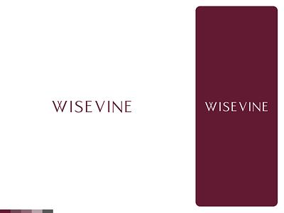 Wisevine | Logo and Branding vineyard winery wine logotype logo design logos logodesign logo label illustrator brand identity design branding design branding brand identity brand design brand alcohol