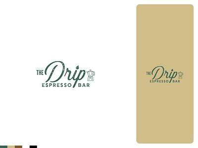 The Drip | Branding and Logo identity logos brand logodesign logo design branding design logo coffee shop coffeeshop coffee espresso machine espresso branding