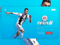 FIFA19 Landing Page