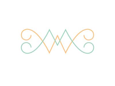 MW Monogram monogram argyle hearts