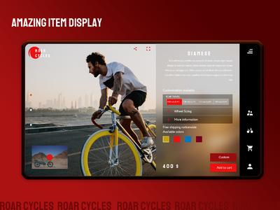 Custom E-commerce web