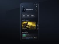User Profile for DailyUI --- 006