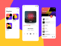 Music Player for DailyUI --- 009