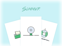 Icons for Summer
