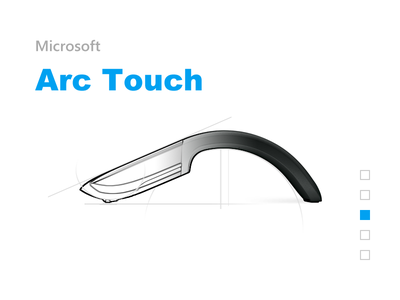 Microsoft Arc Touch arctouch mouse microsoft draft