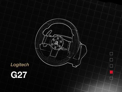 Logitech G27 drive racing g27 logitech draft