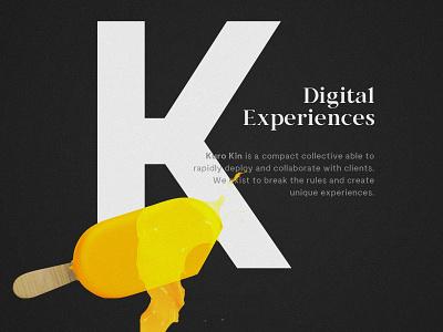 Kuro Kin digital experience launch new website illustration kurokin