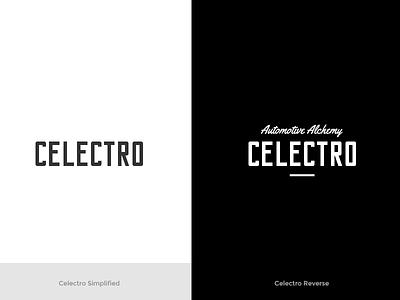 Celectro Brand Development luxury car detailing car identity brand celectro