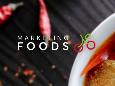 Marketing Foods brand strategy cherry logo brand identity