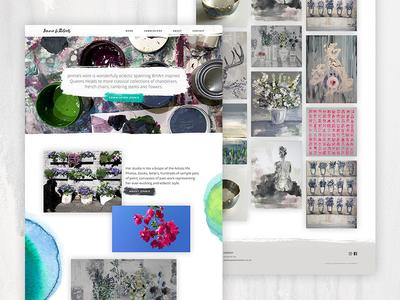 Jennie Li Roberts strategy painting arts craft user experience web design