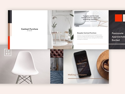 Contract Furniture by Design moodboard style flavour discovery stylescape