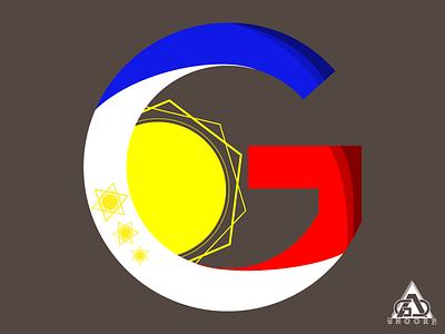 Google PH Independence Day google branding design independence day philippines flat independence independenceday logo symbol illustrator vector flat design