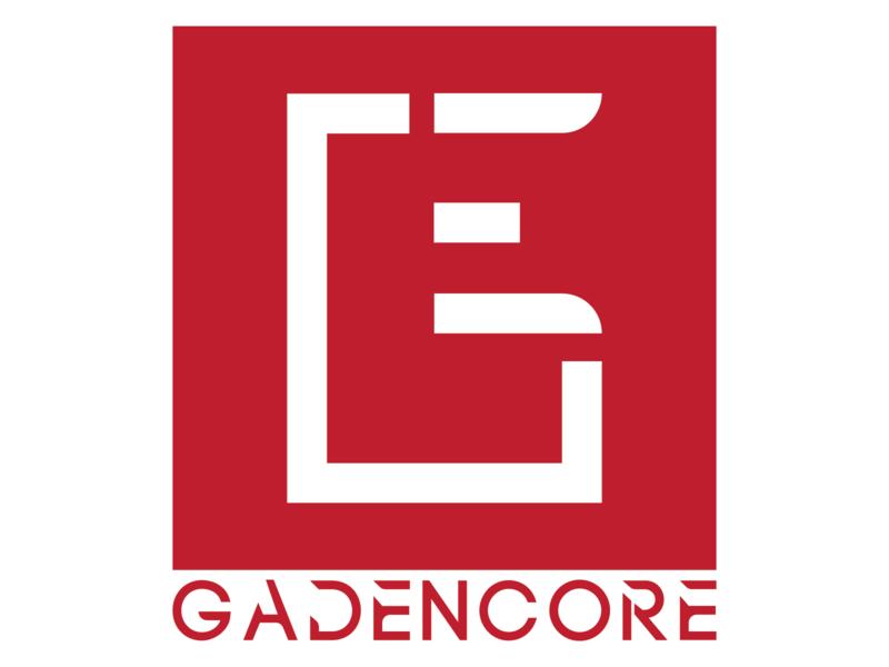 [G E] GADENCORE v2 typogaphy minimalism minimalist logo minimal vector monogram logo branding brand brand design brand identity monogram logo monogram design flat flat design