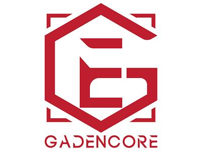 [G E] GADENCORE v2.5 typography flat design flat monogram design monogram logo brand identity brand design brand branding logo monogram vector minimal minimalist logo minimalism