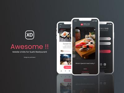 Sushi Restaurant App Challenge for Mobile