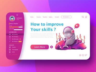 Dugong online learning for education