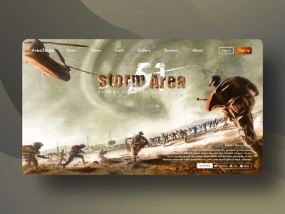 Concept art war of storm area51