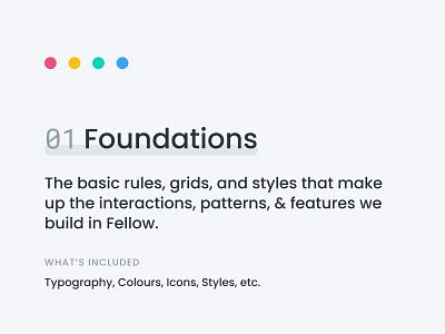 Fellow Design Library figma design interface app design dsm ux ui library system design system design library