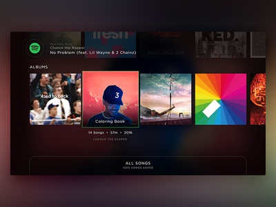 Spotify – Your Music Scrolled (Concept)