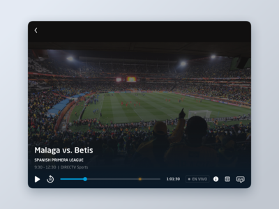 DirecTV Go  //  Live Player