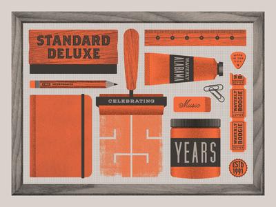 Standard Deluxe Turns 25