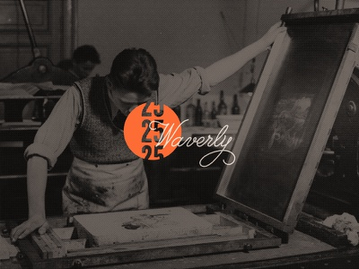Waverly photograph vintage lithography five twenty 25 alabama waverly screen print standard deluxe