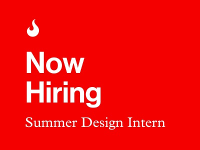 Summer Design Intern identity brand branding graphic design internship atlanta design intern job