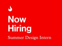 Summer Design Intern